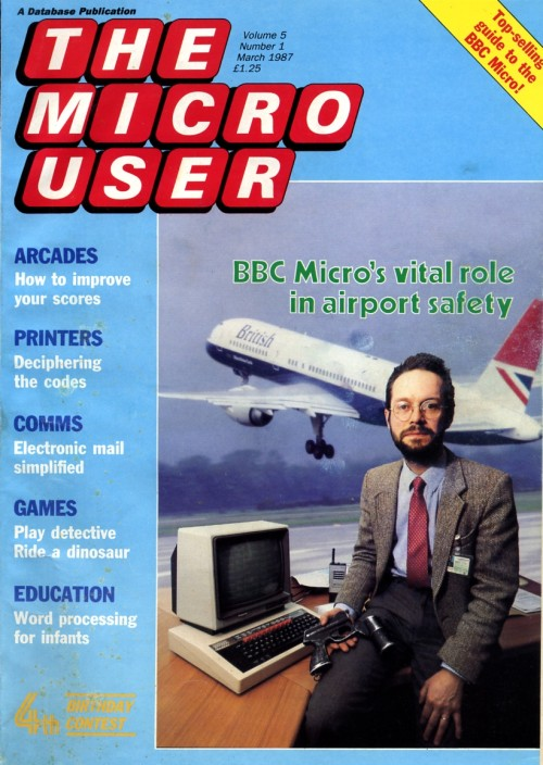 Scan of Document: The Micro User - March 1987 - Vol 5 No 1