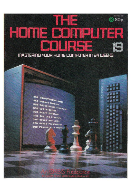 Scan of Document: The Home Computer Course - Issue 19