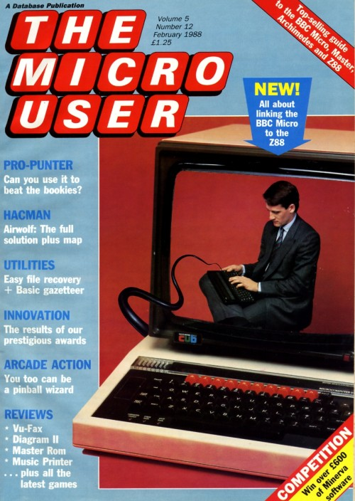 Scan of Document: The Micro User - February 1988 - Vol 5 No 12