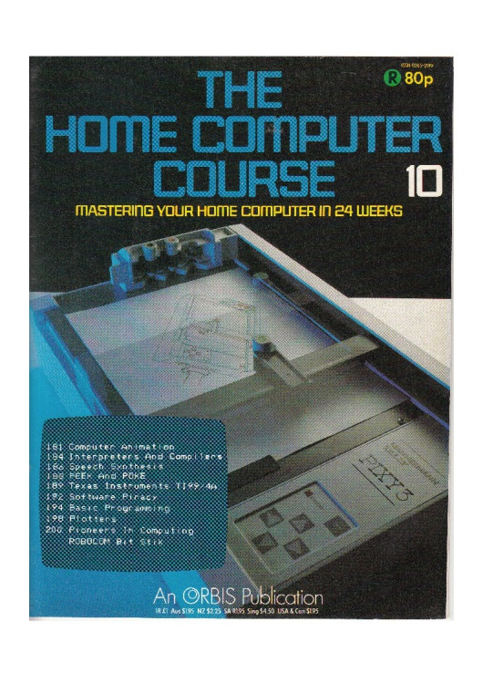 Scan of Document: The Home Computer Course - Issue 10