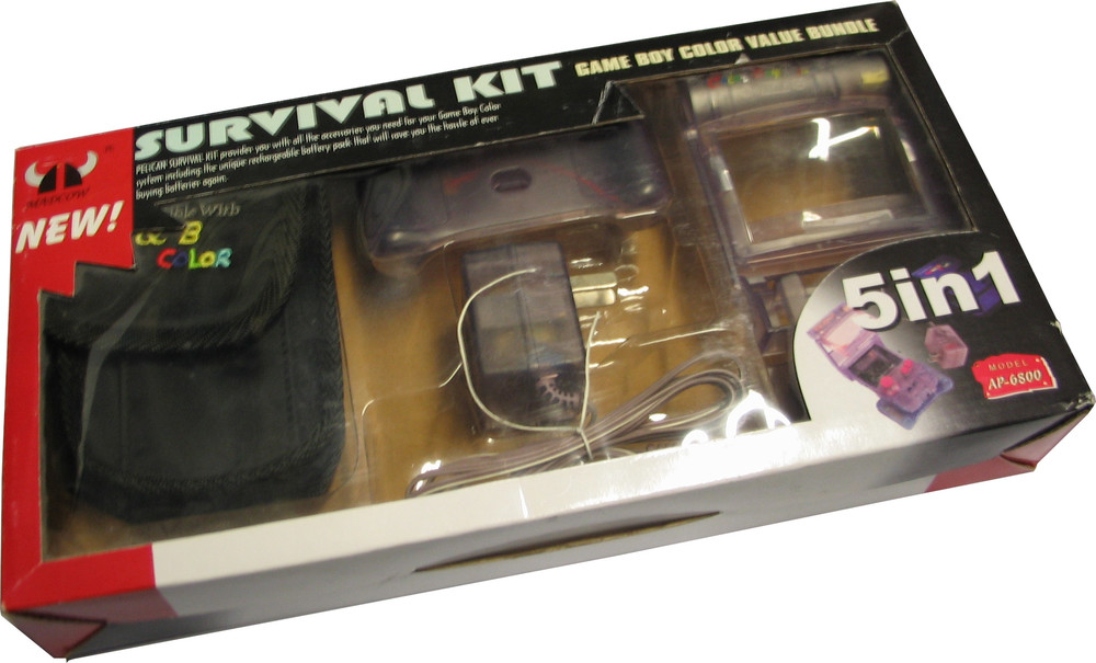 Game Boy Colour Survival Kit 5 in 1