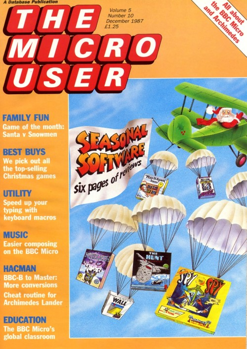 Scan of Document: The Micro User - December 1987 - Vol 5 No 10