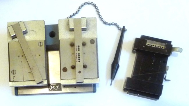 Scan of Document: Paper Tape Correction Jig