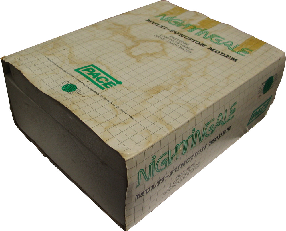 Scan of Document: Boxed Nightingale Modem by Pace