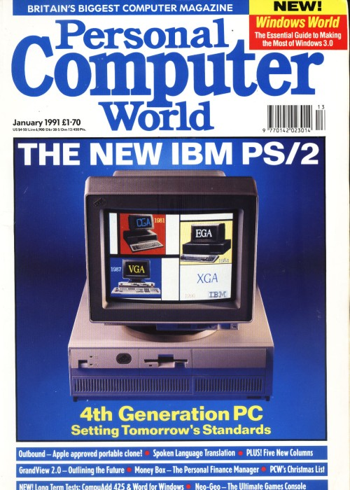 Scan of Document: Personal Computer World - January 1991