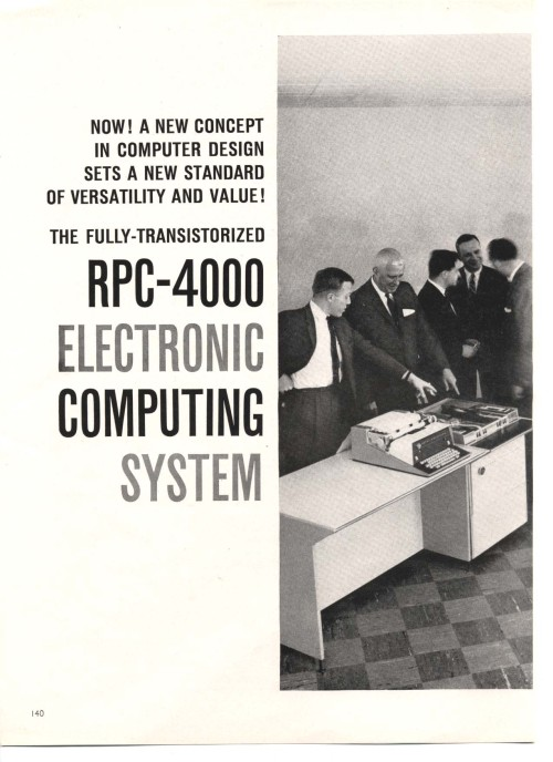 Scan of Document: RPC-4000 Electronic Computing System