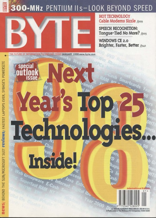 Scan of Document: Byte January 1998