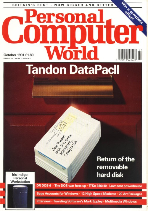 Scan of Document: Personal Computer World - October 1991