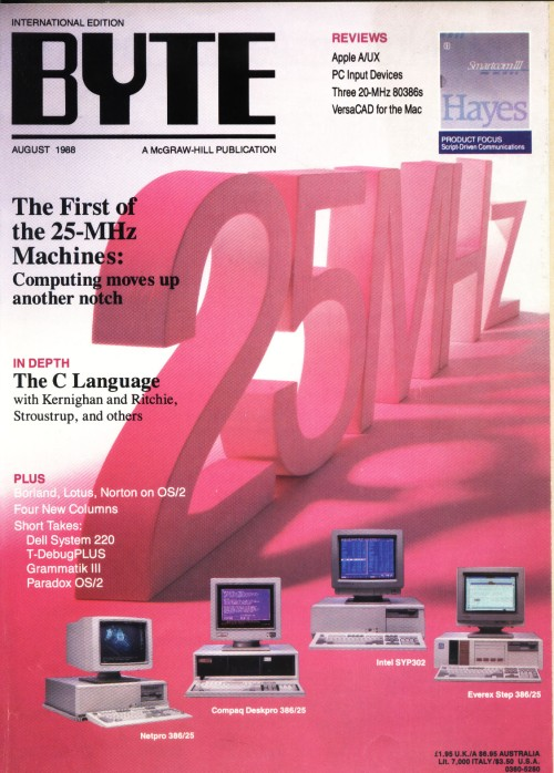 Scan of Document: Byte August 1988