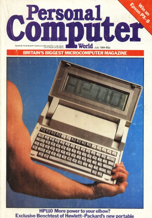 Scan of Document: Personal Computer World - July 1984