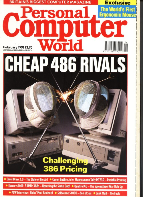 Scan of Document: Personal Computer World - February 1991