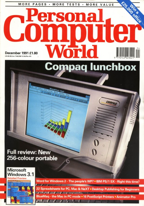 Scan of Document: Personal Computer World - December 1991