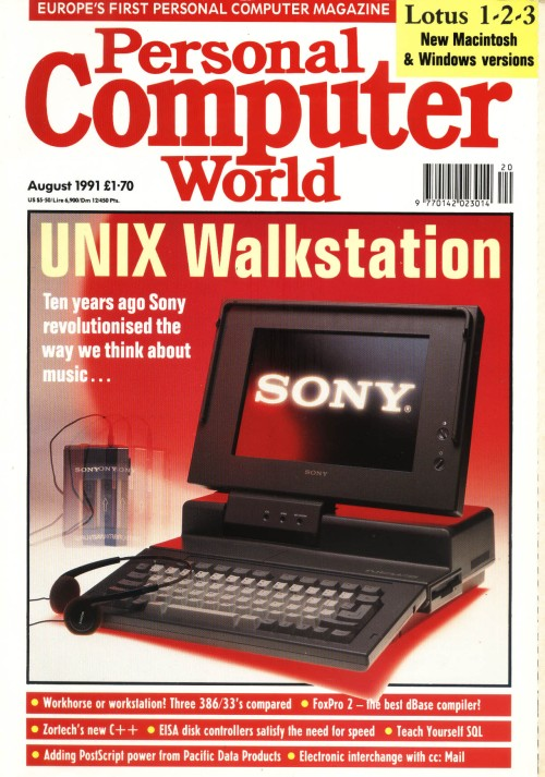 Scan of Document: Personal Computer World - August 1991