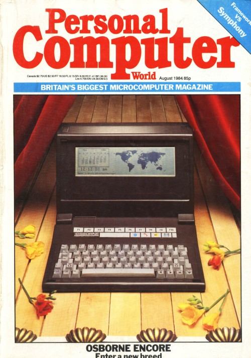 Scan of Document: Personal Computer World - August 1984