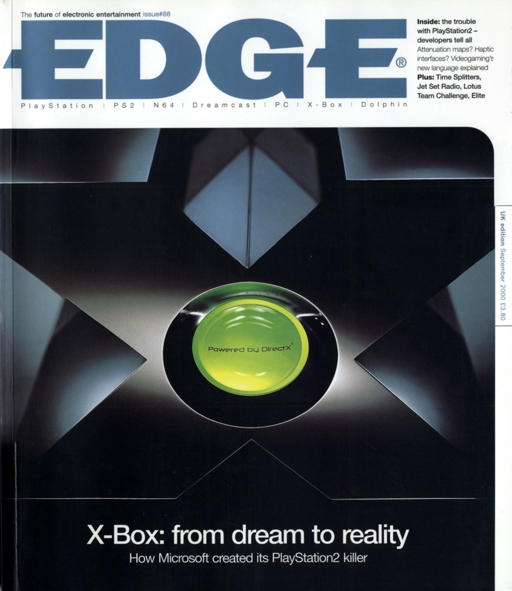 Scan of Document: Edge - Issue 88 - September 2000