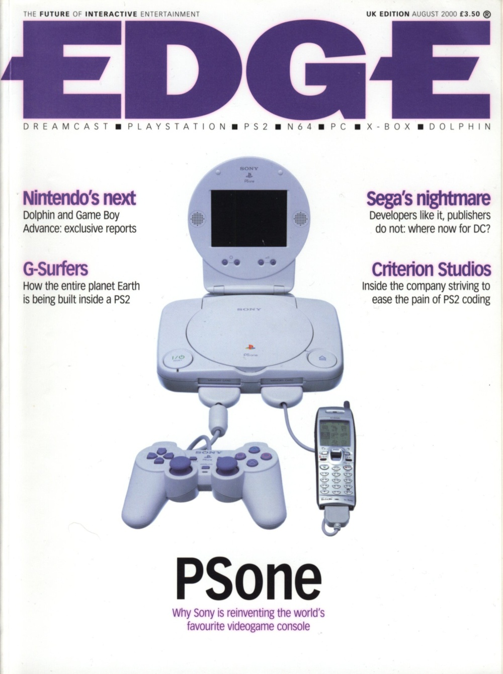 Scan of Document: Edge - Issue 87 - August 2000
