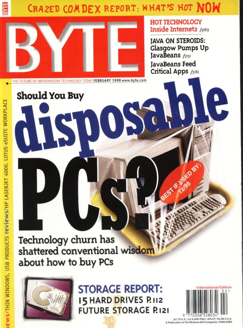 Scan of Document: Byte February 1998