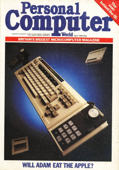 Scan of Document: Personal Computer World - April 1984