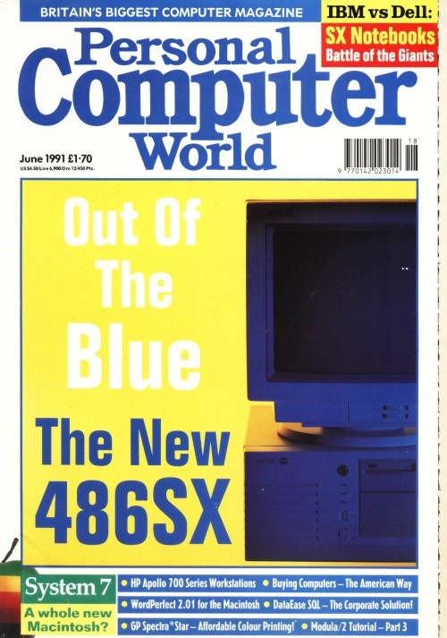 Scan of Document: Personal Computer World - June 1991
