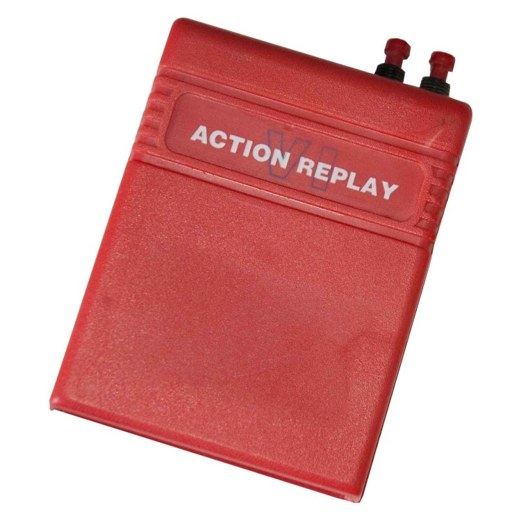 Scan of Document: Action Replay VI