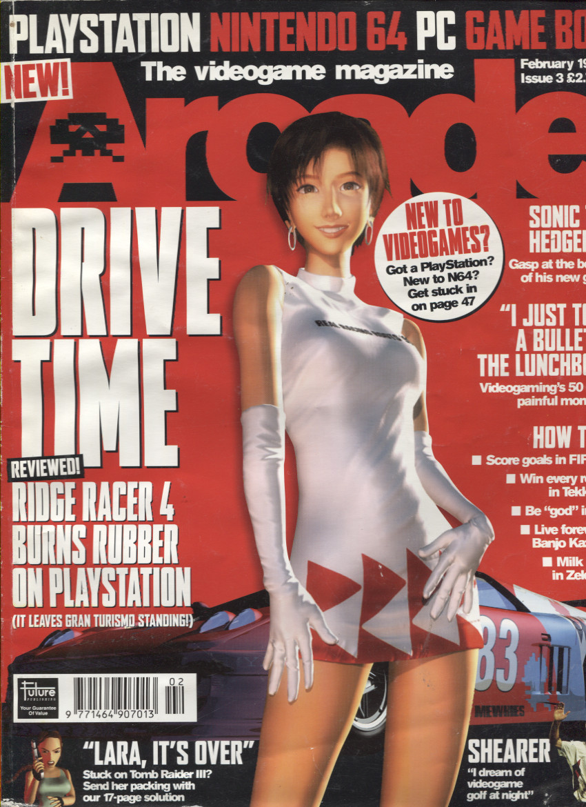 Scan of Document: Arcade Magazine Issue #3 (February 1999)