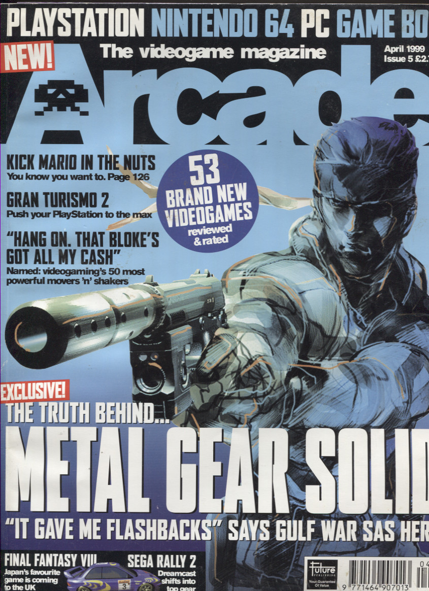 Scan of Document: Arcade Magazine Issue #5 (April 1999)