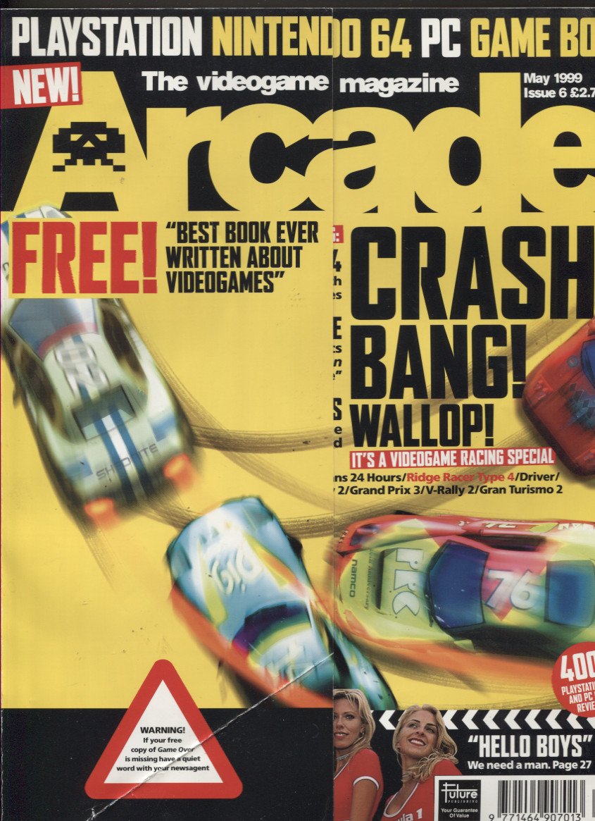 Scan of Document: Arcade Magazine Issue #6 (May 1999)