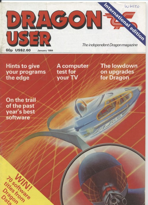 Scan of Document: Dragon User - January 1984