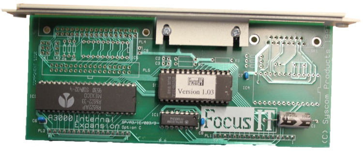 Scan of Document: FocusIT A3000 Internal Expansion