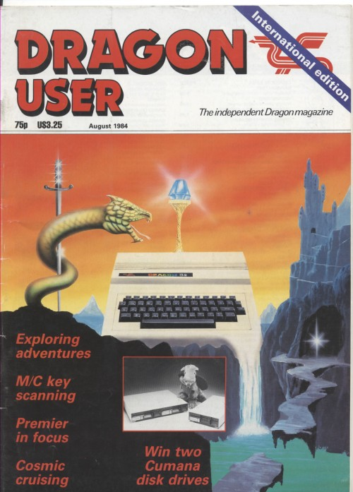 Scan of Document: Dragon User - August 1984