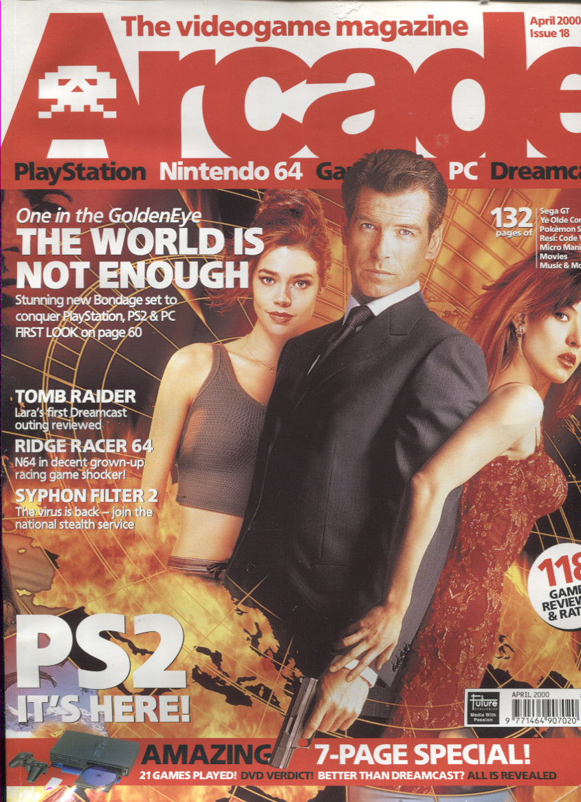 Scan of Document: Arcade Magazine Issue #18 (April 2000)