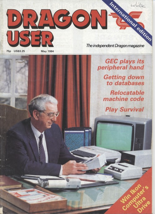 Scan of Document: Dragon User - May 1984
