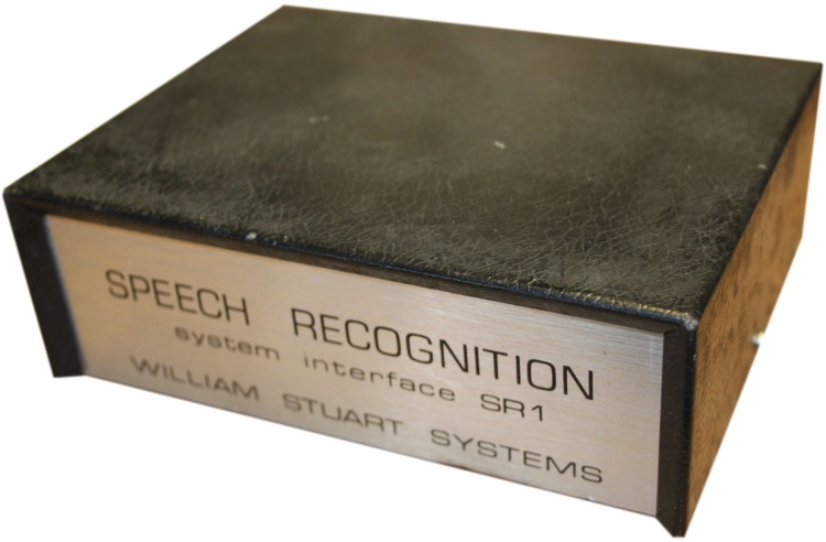 Scan of Document: Speech Recognition System Interface SR1