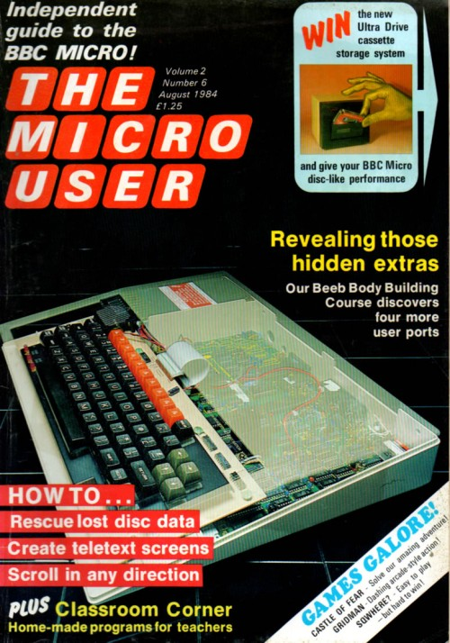 Scan of Document: The Micro User - August 1984 - Vol 2 No 6