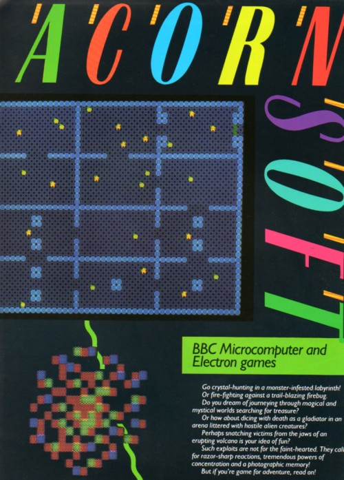 Scan of Document: Acornsoft - BBC Microcomputer and Electron Games