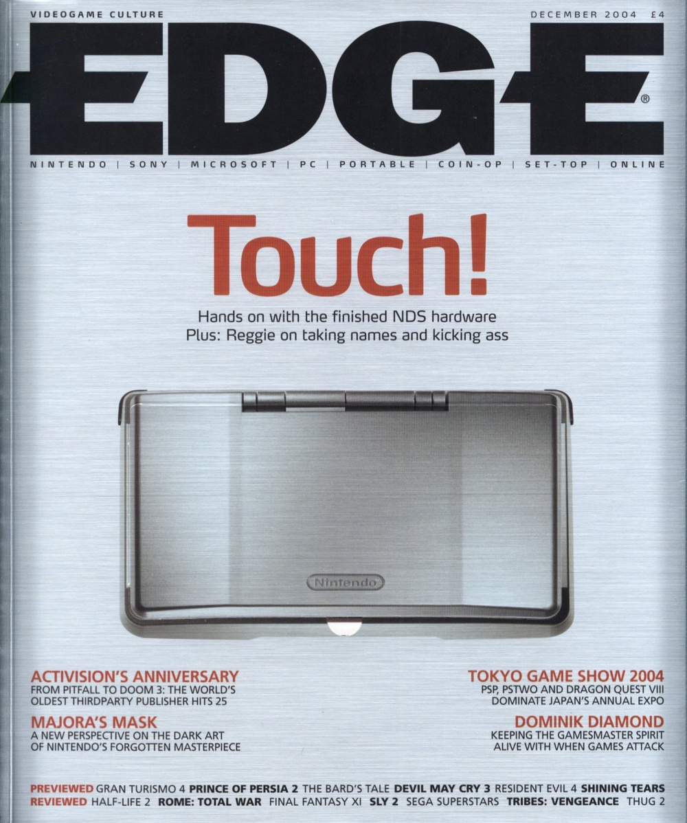 Scan of Document: Edge - Issue 143 - December 2004