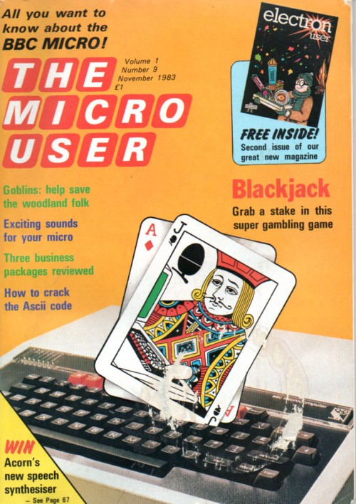 Scan of Document: The Micro User - November 1983 - Vol 1 No 9