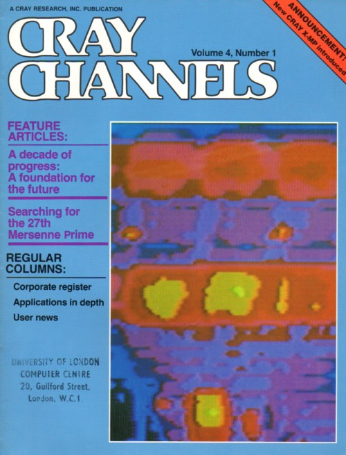 Scan of Document: Cray Channels - Vol 4 No 1