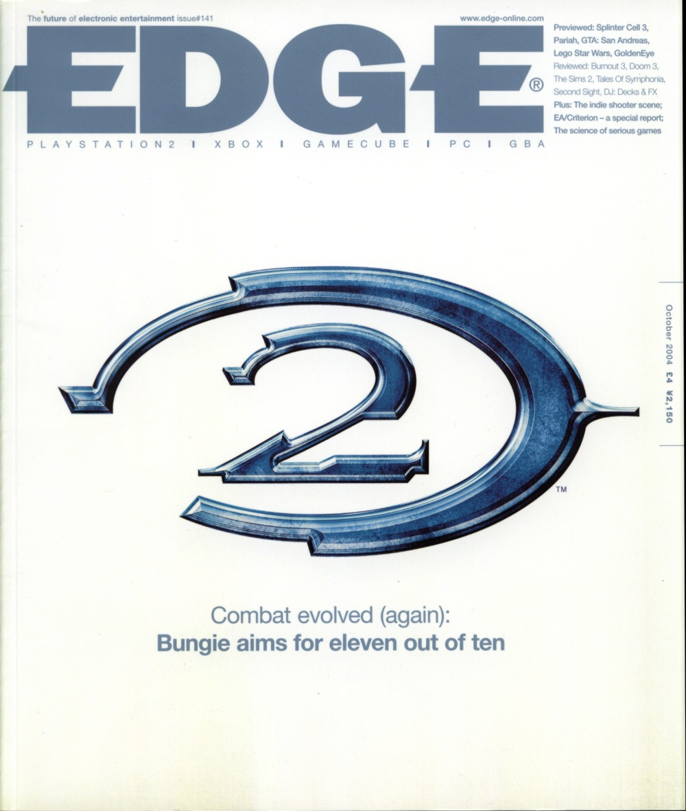Scan of Document: Edge - Issue 141 - October 2004