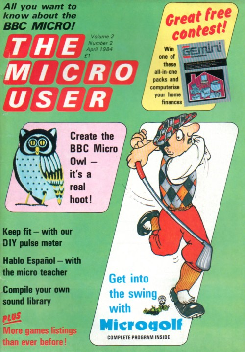 Scan of Document: The Micro User - April 1984 - Vol 2 No 2