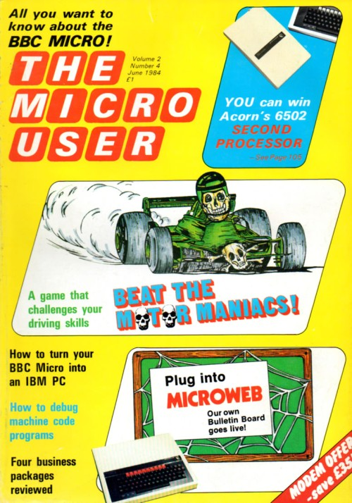 Scan of Document: The Micro User - June 1984 - Vol 2 No 4