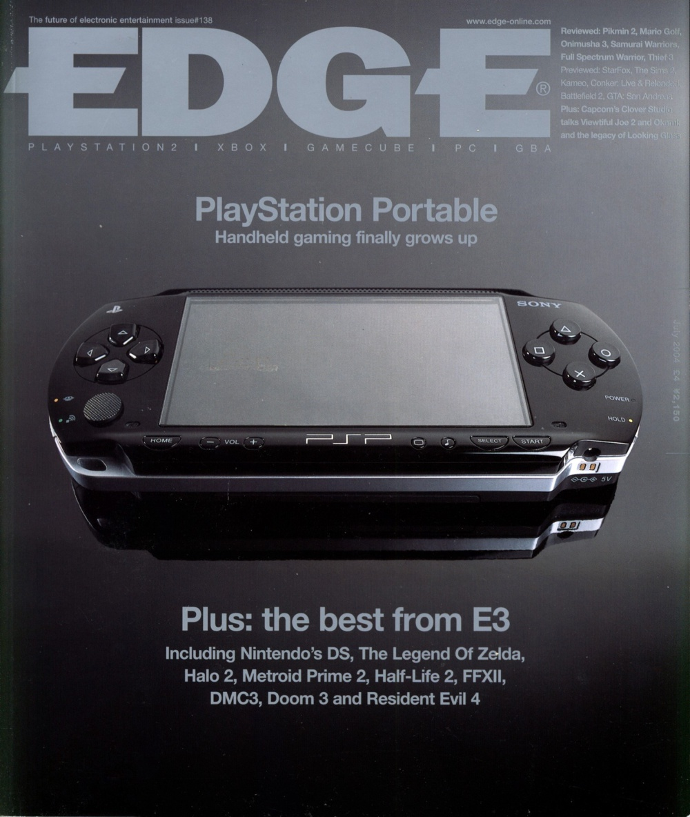 Scan of Document: Edge - Issue 138 - July 2004
