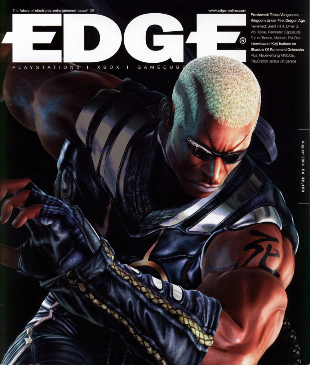 Scan of Document: Edge - Issue 139 - August 2004