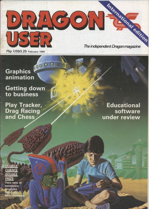 Scan of Document: Dragon User - February 1984