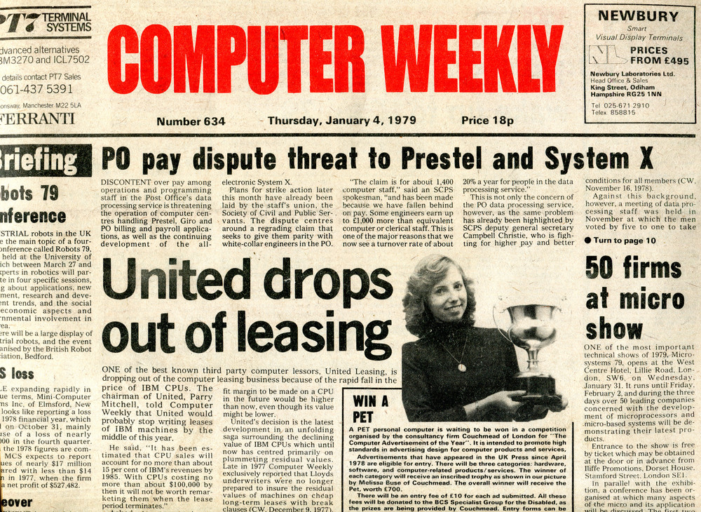 Scan of Document: Computer Weekly 632/3