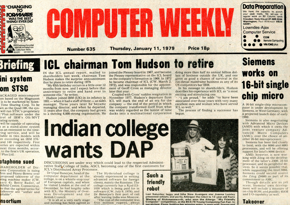 Scan of Document: Computer Weekly 635