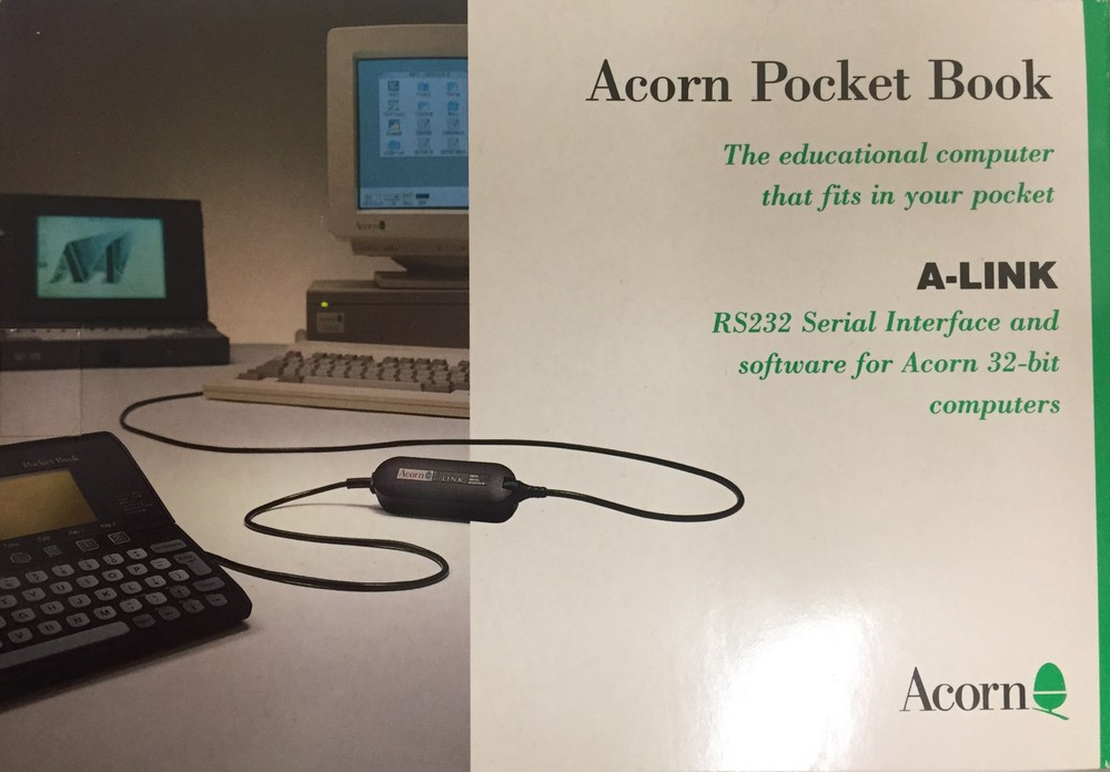 Scan of Document: A-Link for Acorn Pocket Book (AHA30)