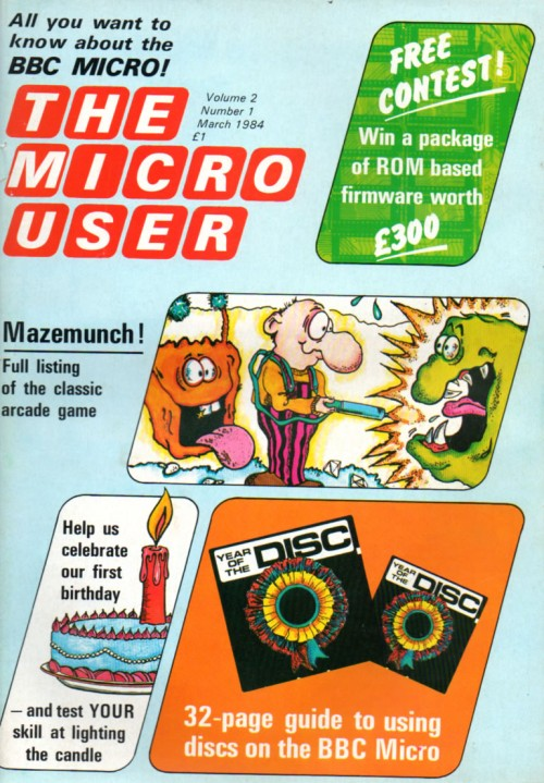 Scan of Document: The Micro User - March 1984 - Vol 2 No 1