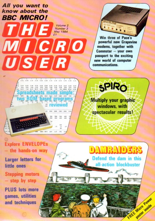 Scan of Document: The Micro User - May 1984 - Vol 2 No 3