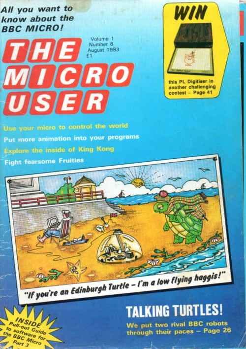 Scan of Document: The Micro User - August 1983 - Vol 1 No 6